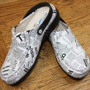 Comfort Shoes Direct - Wash&Go PF9 Newspaper – Nurses shoe