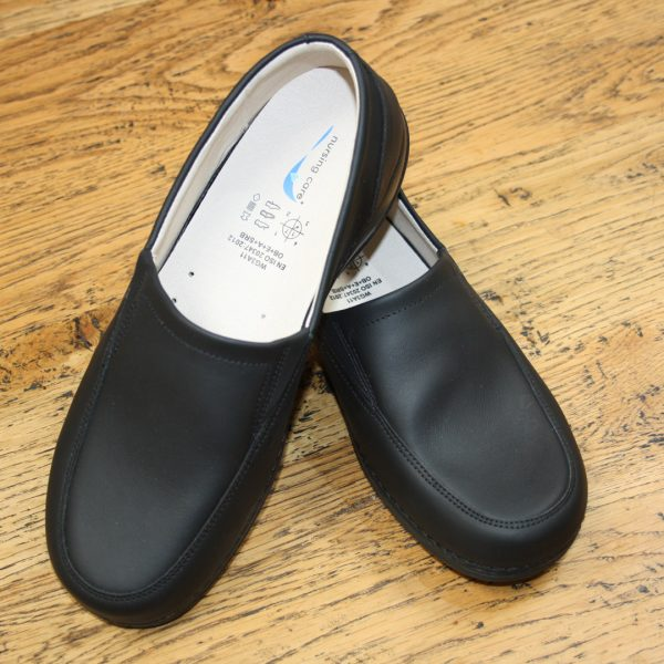 Comfort Shoes Direct - Wash&Go Black slip on