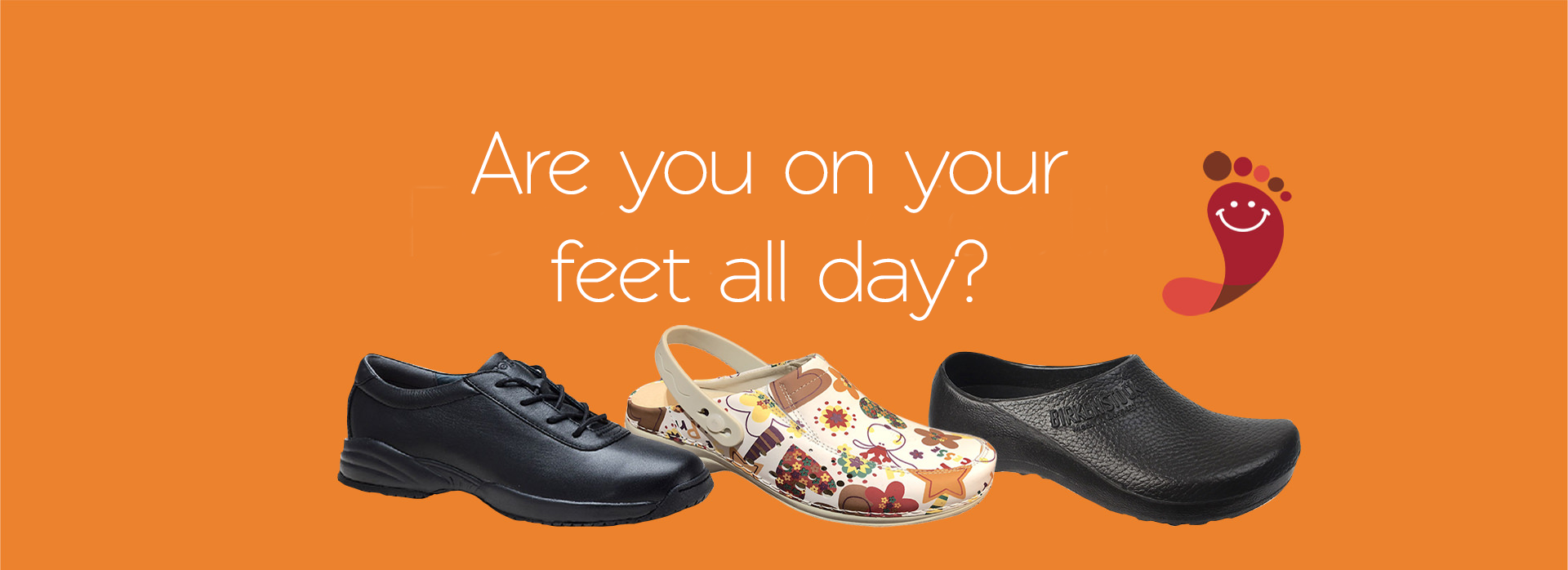 Comfort Shoes Direct - Are you on your feet all day?
