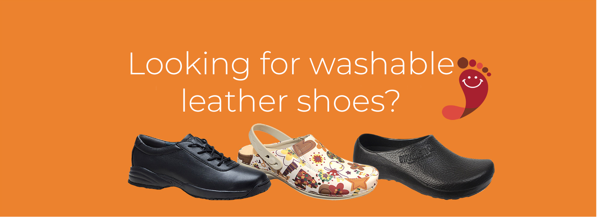 Comfort Shoes Direct - Looking for washable Leather Shoes?