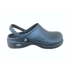 Comfort Shoes Direct - Ladies Service Black Clogs